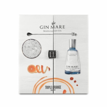 Gin Mare gin Glass Pack (0,7 l, 42,7%)