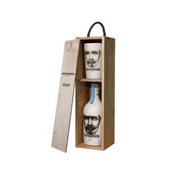 Knut Hansen Gin 0,5l 42% Wooden Gift box