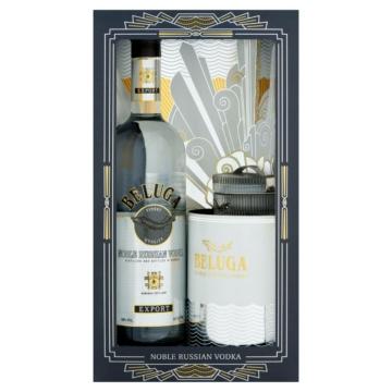 Beluga Noble Vodka 0,7l 40% + kaviártartó PDD