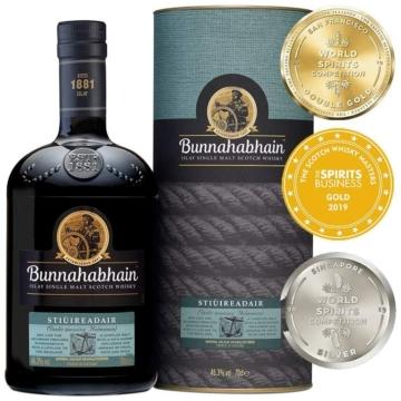 Bunnahabhain Stiuireadair Islay Single Malt Skót Whisky 0,7l 46,3%