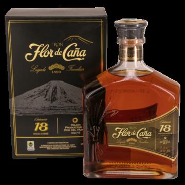 Flor De Cana 18 éves Rum 0,7l 40%