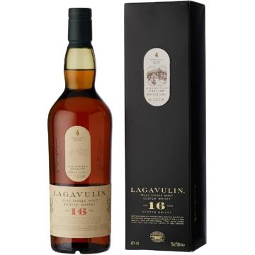 Lagavulin 16 éves Skót Whisky 0,7l 43%