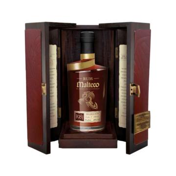 Malteco Vintage 1980 Rum fa díszdobozban 0,7l 40%