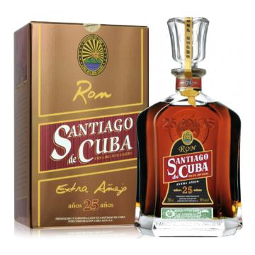 Ron Santiago de Cuba Extra Anejo 25 éves 40% 0,7l