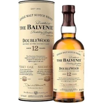 The Balvenie Double Wood 12 Éves Single Malt Skót Whisky 0,7l 40%