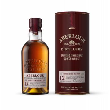 Aberlour 12 éves  Double Cask Matured Skót Whisky 0,7l 40%