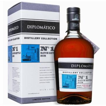 Diplomatico TDC N1 Single Batch Kettle Rum Díszdobozban 0,7l 47%