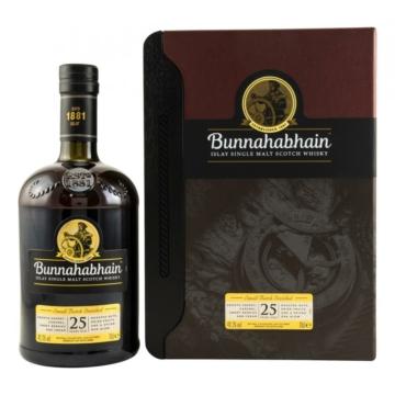 Bunnahabhain 25 éves Skót Whisky 0,7l 46,3%