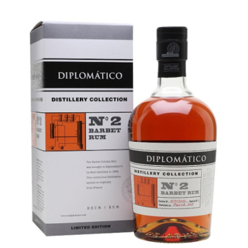 Diplomatico TDC N2 Single Barbet Column 0,7l 47% DD