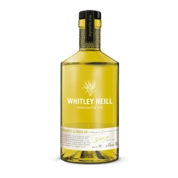 Whitley Neill Lemongrass & Ginger 0,7l 43%