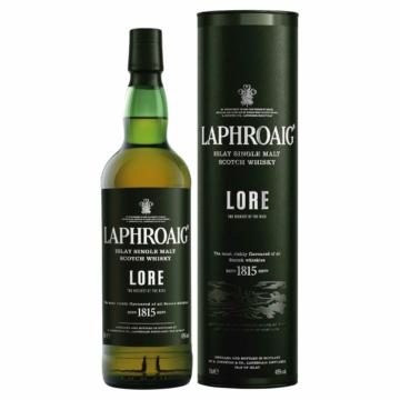 Laphroaig Lore Islay Single Malt Skót Whisky 0,7l 48%