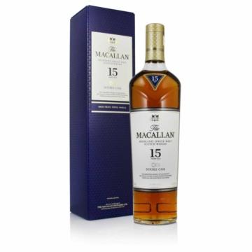 The Macallan 15 Éves Double Cask Skót Whisky 0,7l 43%