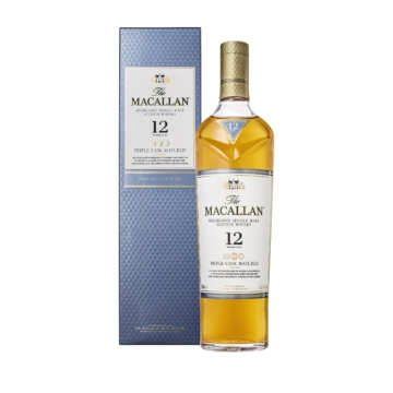 The Macallan 12 Éves Triple Cask Skót Whisky 0,7l 40%