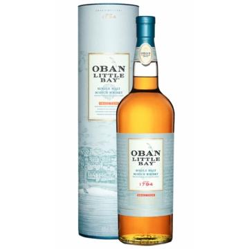 OBAN Little Bay Single Malt Skót Whisky 0,7l 43%