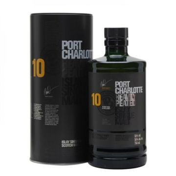 Bruichladdich Port Charlotte 10 éves 0,7l 50% DD