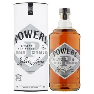 Powers Johns Lane 12 éves Single Pot Still 0,7l 46%