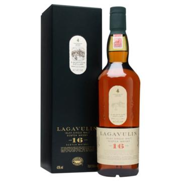 Lagavulin 16 éves Islay Single Malt Sc. Whisky 0,7l 43% DD