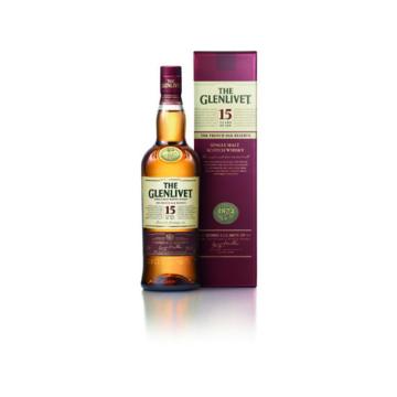 The Glenlivet 15 Éves French Oak Reserve Skót Whisky 0,7l 40%