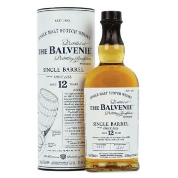 Balvenie 12 éves Single Barrel Skót Whisky 0,7l 40%
