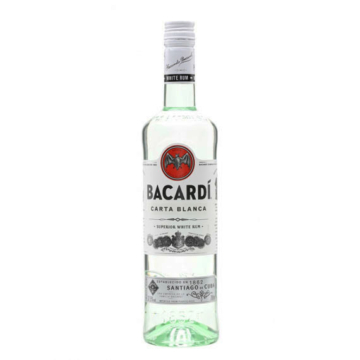BACARDI Carta Blanca Superior 0.7L (37.5%)