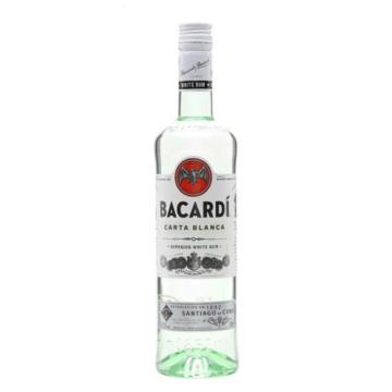 Bacardi Carta Blanca Superior Rum 0.7l 37,5%