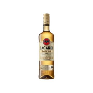 Bacardi Gold (Oro) rum 0,7 37,5%