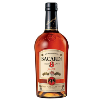 Bacardi 8 éves rum 0,7l
