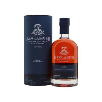 Glenglassaugh Peated Port Wood Finish Skót Whisky 0,7l 46%