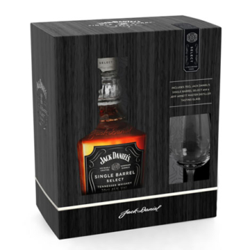Jack Daniel's Single Barrel 0,7l 45% + pohár DD