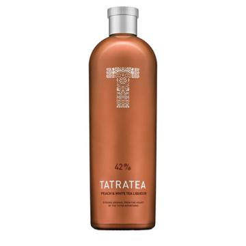 Tatratea 42% őszibarackos tea likőr 0,7l