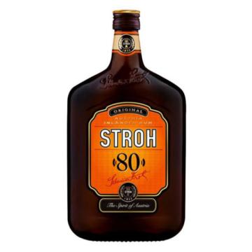 Stroh Rum 80% 0,5l