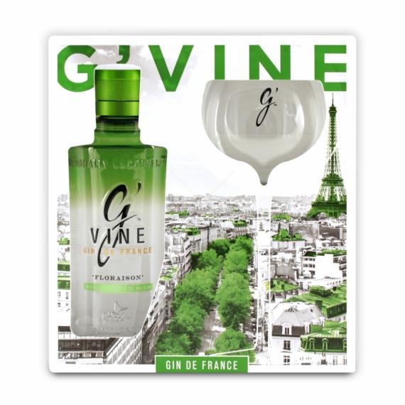 G Vine Floraison 0,7l 40% + pohár DD