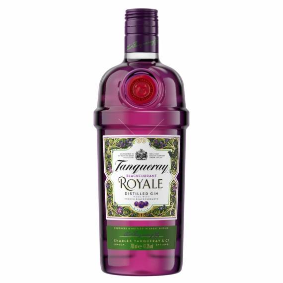 Tanqueray Blackcurrant Royale Feketeribizli Gin 0,7l 41,3%