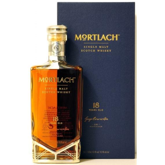 Mortlach 18 Éves Single Malt Skót Whisky 0,5l 43,4%