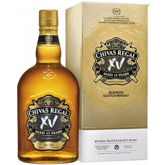 Chivas Regal XV 15 éves Skót Whisky 0,7L 40%