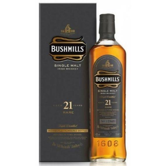 Bushmills 21 éves Skót Whisky 0,7l 40%