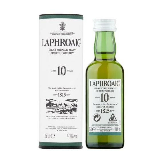 Laphroaig 10 éves 0,05l mini