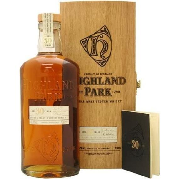 Highland Park 30 éves Single Malt Whisky Fa Díszdobozban