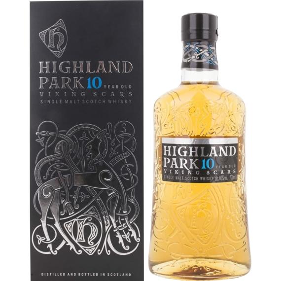 Highland Park 10 éves 40% 0,7l Viking Scars DD
