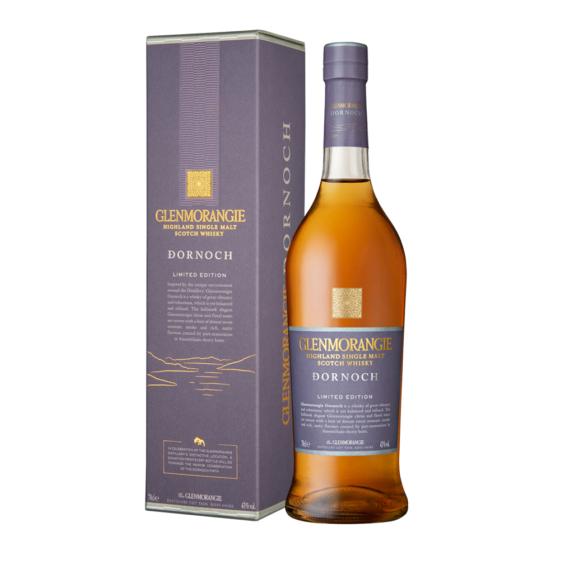 Glenmorangie 'Dornoch' Limitált Kiadású Single Malt Scotch Skót Whisky 0,7L 43%