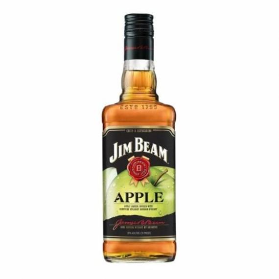Jim Beam Kentucky Straight Bourbon Whiskey  Apple 0,5L 35%