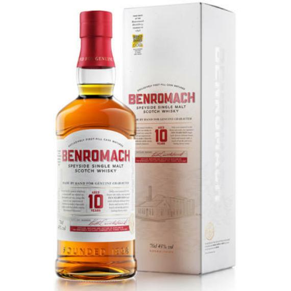 Benromach 10 Éves Skót Whisky 0,7l 43%