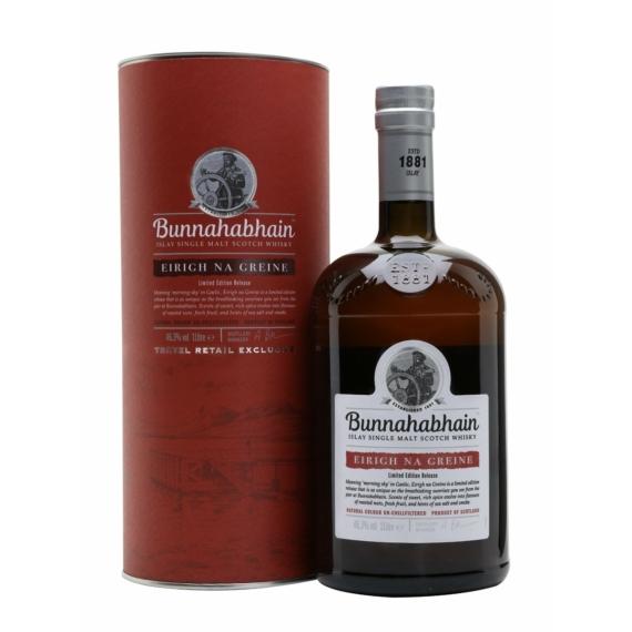 Bunnahabhain Eirigh Na Greine Díszdobozos Skót Islay Whisky 1,0l 46,3%