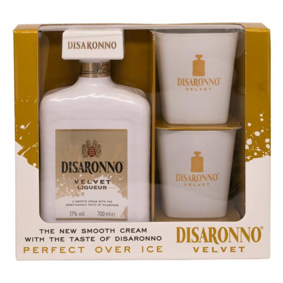 Disaronno Velvet 0,7l 17% + 2 pohár DD