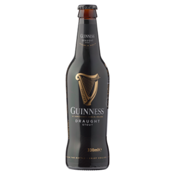 Guinness Ír fekete 0,33l üveg 4,2%