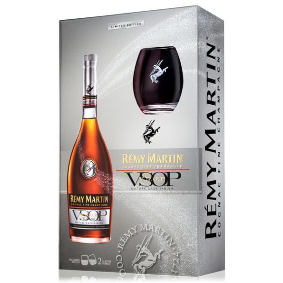 Remy Martin VSOP 0,7l 40% + 2 pohár DD Limited Edition