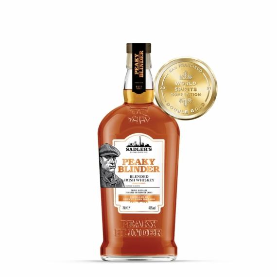 Sadler's Peaky Blinder Ír Whiskey, 0,7l 40%