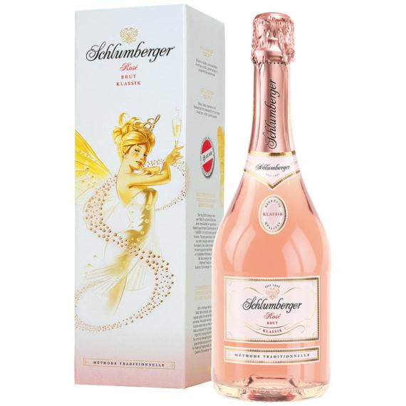 Schlumberger Rose DD 0,75l 11,5% száraz rosé pezsgő