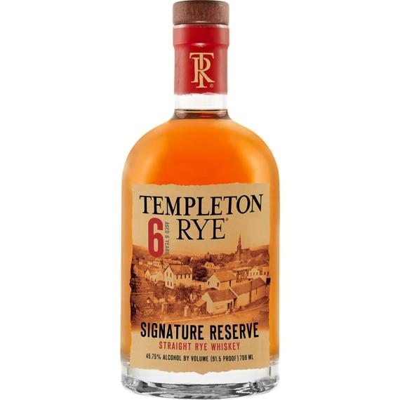 Templeton Rye 6 Éves Straight Rye Whiskey 0,7l 45,75%