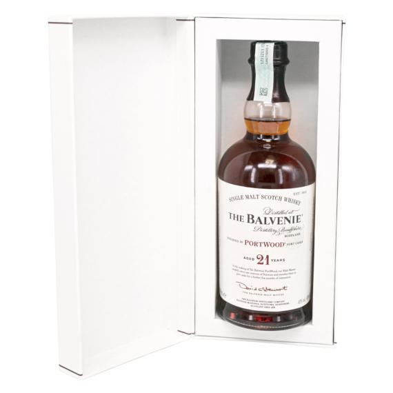 Balvenie 21 éves Portwood  Skót Whisky 0,7l 40%